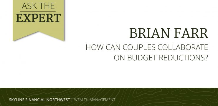 How Can Couples Collaborate on Budget Reductions?