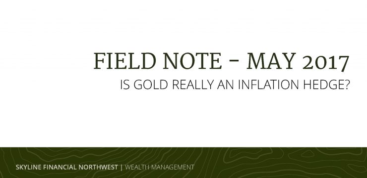 All that Glitters: Is Gold Really an Inflation Hedge?