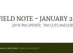 2018 Tax Update: Tax Cuts and Jobs Act