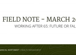Working After 65: Future or Fallacy?