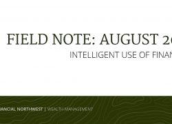 Field Note: August 2021