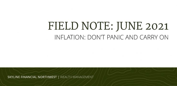 Field Note: Inflation