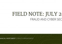 Field Note: Fraud & Cybersecurity